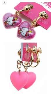 Hello Kitty Earrings Ring Bracelet Earrings Children,Necklace for
