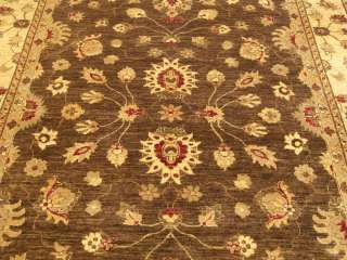 8x10 Handmade Veg Dye Fine Wool High End Sultanabad Rug
