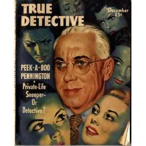 True Detective Magazine December 1948: John Shuttleworth: Books
