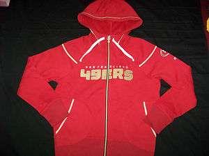 Reebok San Francisco 49ers Womens Hoodie NWOT Medium