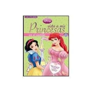 : VISTO A MIS PRINCESAS EN EL CASTILLO (9789875798243): DISNEY: Books