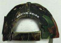 NEW NATIVE PRIDE WOLF & EAGLE FEATHERS BASEBALL CAP/HAT