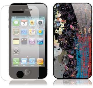 AWEWELL iPhone 4 ART SKIN Cover Case decal 3M Sticker