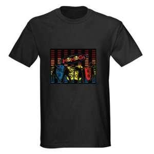 Disco Dancer GADGET LED Light Flash EL T Shirt (4*AAA) FY 00127