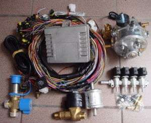 CNG Diesel Dual Fuel Injection Kit 4 cyl Truck