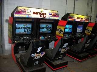 SEGA Daytona USA double sit down racing game 1994