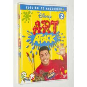 Disney ART ATTACK 2 (Spanish): Movies & TV