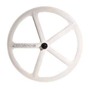 Aerospoke White Front Track Non Machined 700C: Sports