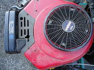 14 hp BRIGGS AND STRATTON OHV VERTICAL SHAFT VANGUARD IC RIDING