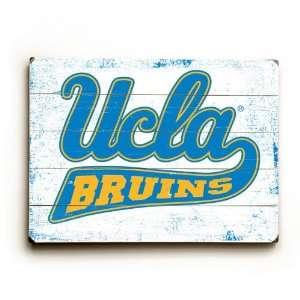 University of California Los Angeles, Bruins, UCLA Wood Sign