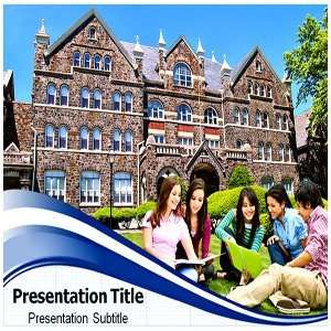 Campus Organizational PowerPoint Templates   Background On