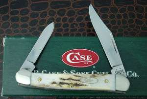 CASE XX INDIA STAG MINI COPPERHEAD KNIFE 52109X SS 2006
