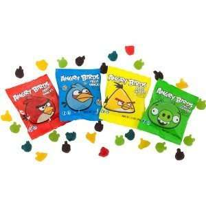 Angry Birds Fruit Snacks .7 Oz (50 Pack Mix Colors):