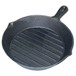 Tomlinson 1018447 Cast Iron Ribbed Grill Pan Kitchen