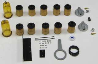 Ultimate Diesel Generator Fuel Filter Kit Stage 1