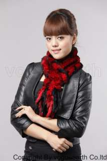 553 new real Rex rabbit fur 4 color scarf/shawl/wrap