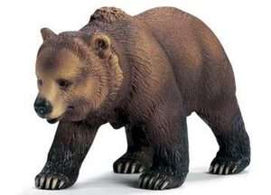 NEW Schleich Wild Life Animals America Grizzly Bear Female 14323