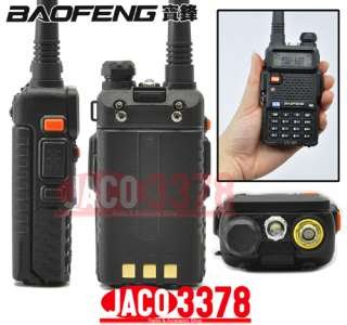 NEW BAOFENG UV 5R Dual Band UHF/VHF Radio RF 4W OUTPUT NEW version