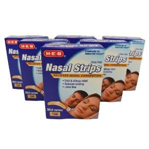 Sm/Med Drug Free Nasal Strips Helps Breathing/Snoring