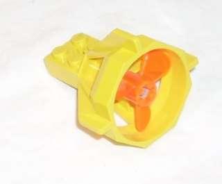 Legos Yellow Propellor Housing 6195/6175 Aquazone