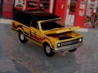 Hot 69 Chevy Blazer K5 4x4 Custom Truck Limited Edition 1/64 Scale