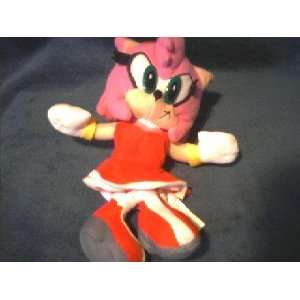 Sonic X Amy Rose 8 Plush
