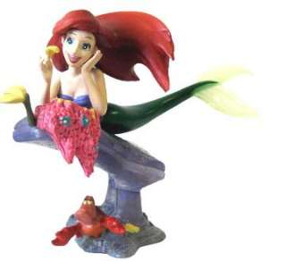 Little Mermaid Ariel Sebastian Crab Flounder Fish Disney Tomy