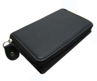 Classic women black folds wallet/ Coin Purse~~~ ★757