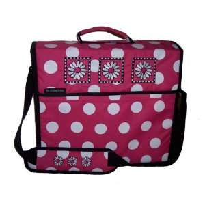 PaperPak Pink Polka Dot Paper Carrying Case Arts, Crafts & Sewing