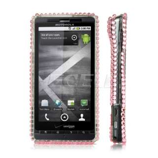 Ecell Designer Range   Hello Kitty Crystal Bling Case for Motorola