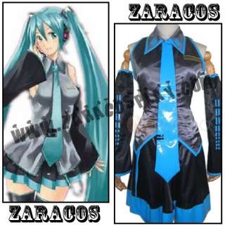 Vocaloid Hatsune Miku Cosplay Costume Custom Outfit