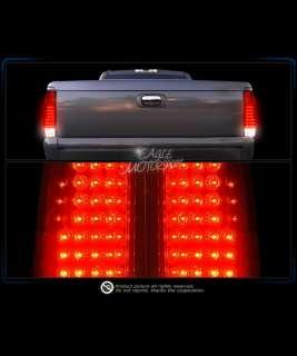 88 98 CHEVY C/K FULL SIZE C10 RED LED BRAKE TAIL LIGHTS