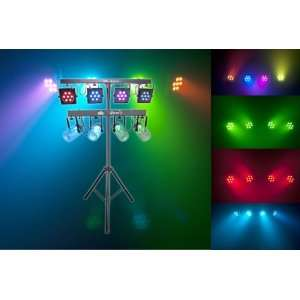 com Brand New Chauvet 4bartri Portable Tri colored LED Wash Lighting