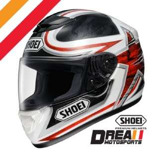 SHOEI QWEST ETHEREAL TC 1 RED FULL FACE MOTORCYCLE HELMET DOT SNELL