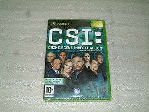 CSI CRIME SCENE INVESTIGATIONXBOX GAME NEW SEALED PAL