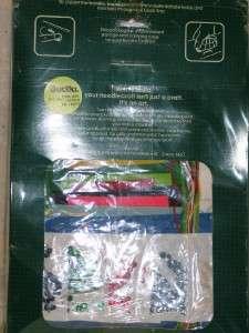 Bucilla Felt Jeweled Stocking Kit Frostys Wreath IOP
