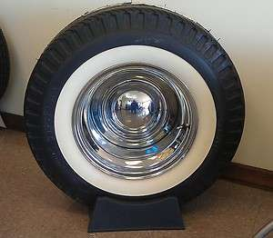 Firestone Drag Slick 1000 15 White Wall Tire DOT Legal