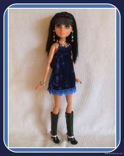 HANDMADE Custom Fashion 4 MOXIE TEENZ DOLL DRESS + JEWELRY Clothes d4e