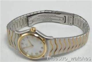 Stainless Steel & 18K Gold MOP Roman Dial Quartz Watch 1057901
