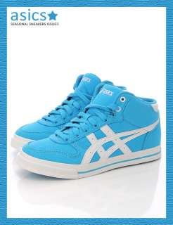 Brand New ASICS AARON MT CV Shoes Water Blue/White #98