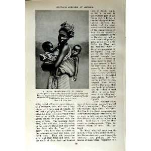 c1920 AFRICA WOMAN BABY TWINS NIGERIA CHILDREN: Home