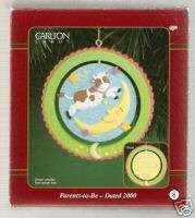 2000 PARENTS TO BE Carlton Cards Baby Ornament MIB