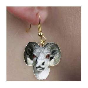 Wildlife  Dall Sheep  Ram   Earrings: Everything Else