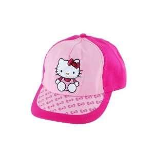 Super Cute Hello Kitty Pattern Cartoon Ball Girls Hat