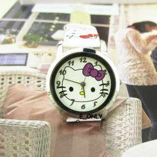 Fashion Cute Lovely Hellokitty Children Quartz Watches Student Girl