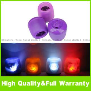 LED Projection Electronic Flameless Light Lamp Candle P