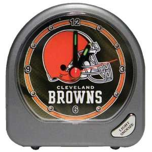 Cleveland Browns   Logo Alarm Clock, NFL Pro Football