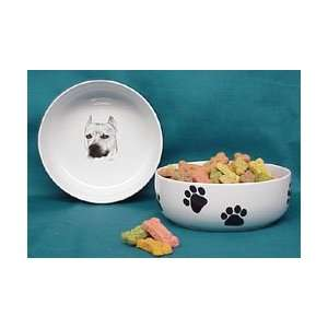 American Staffordshire Terrier Dog Bowl Pet Supplies