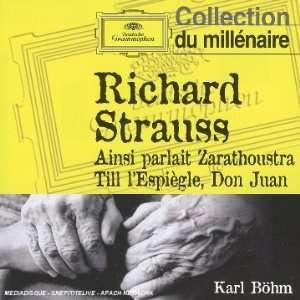 Richard Strauss Ainsi parlait Zarathoustra; Till lEspiègle; Don