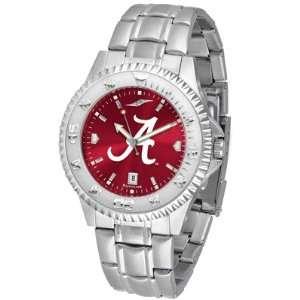 Alabama Crimson Tide Competitor AnoChrome Steel Band Watch